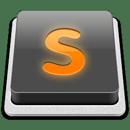 Sublime editor logo